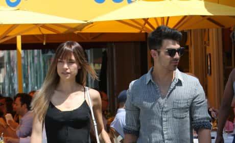 Blanda Eggenschwiler and Joe Jonas