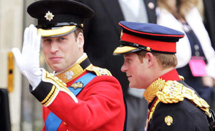 Make Out Alert: Prince Harry, Chelsy Davy Lock Lips
