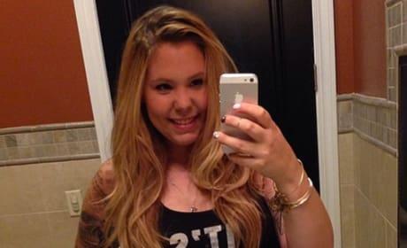Kailyn Lowry Bathroom Selfie