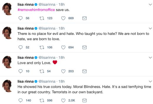 lisa tweets