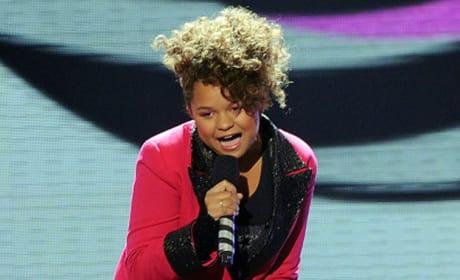 Rachel Crow on The X Factor