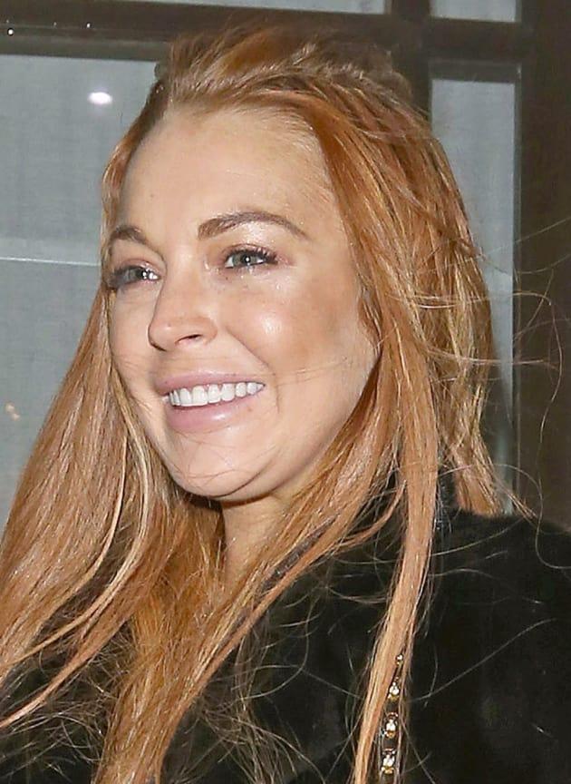 Lindsay Lohan Double Chin