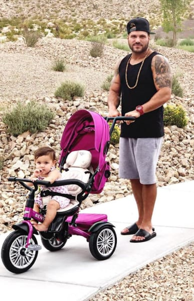 Ronnie Ortiz-Magro Takes Daughter to Disneyland, Manages Not to Get Arrested