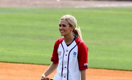 Carrie Underwood, Softball Uniform