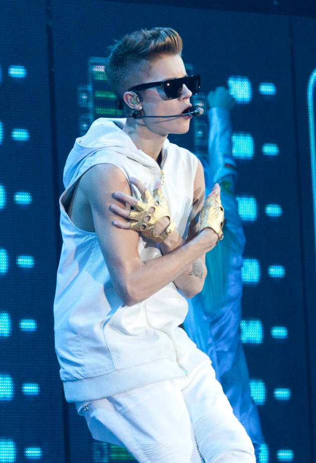 Justin Bieber New York Concert Pic