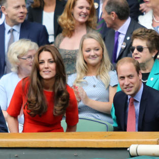 Kate Middleton and Prince William: Wimbledon 2015