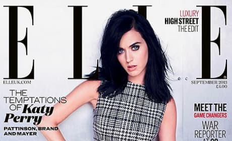 Katy Perry Elle Cover Pic