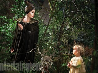 Angelina and Daughter