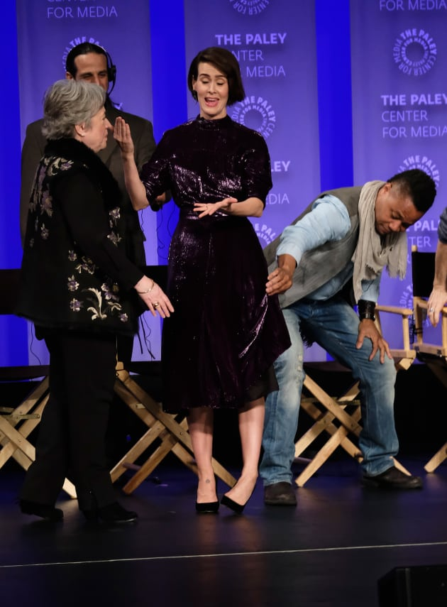 Sarah Paulson: Harrassed By Cuba Gooding Jr.