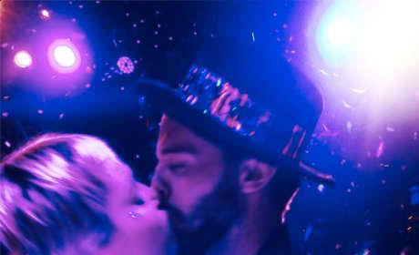 Patrick Schwarzenegger Kisses Miley Cyrus