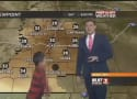Child Interrupts Weather Report, Lets One Rip