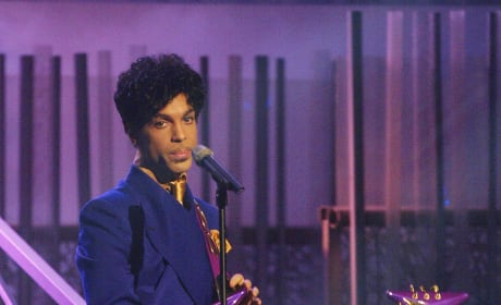 Prince at the Grammys