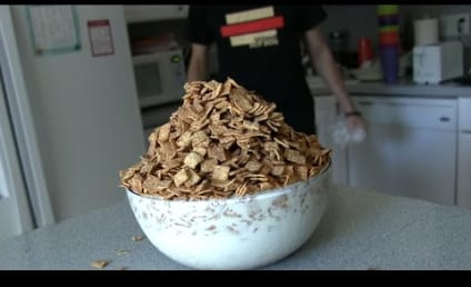 Watch This Guy Eat THREE POUNDS of Cinnamon Toast Crunch