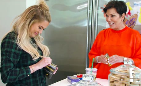 "Khloe Kardashian Sprays ""Condom Juice"" on Kris Jenner"