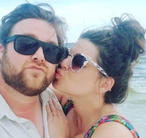 Amy Duggar Kisses Dillon