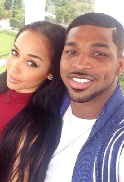 Jordyn Craig and Tristan Thompson