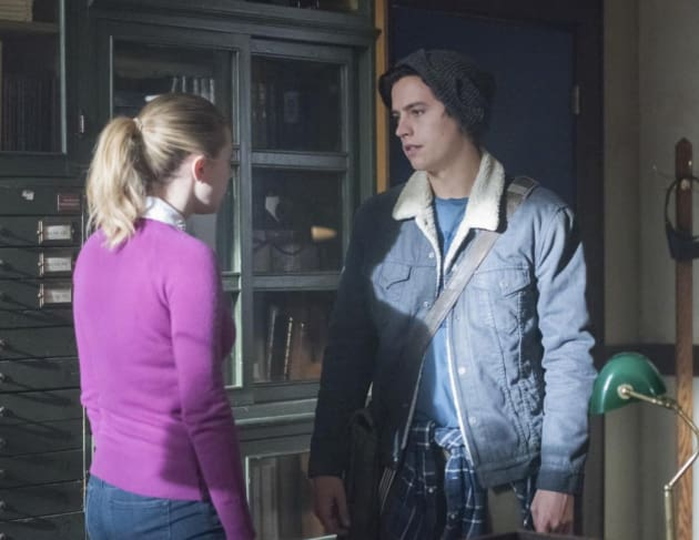 Lili Reinhart, Cole Sprouse on Riverdale