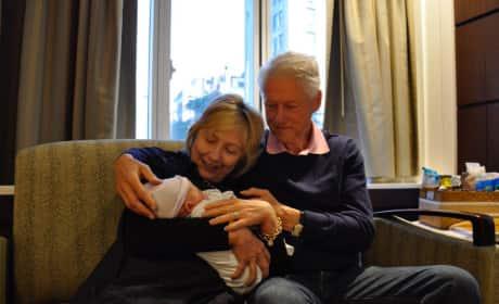 Bill, Hillary and Aidan