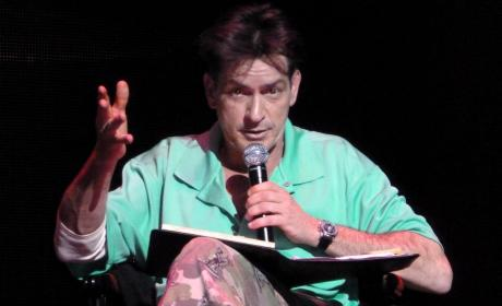 Charlie Sheen on Tour