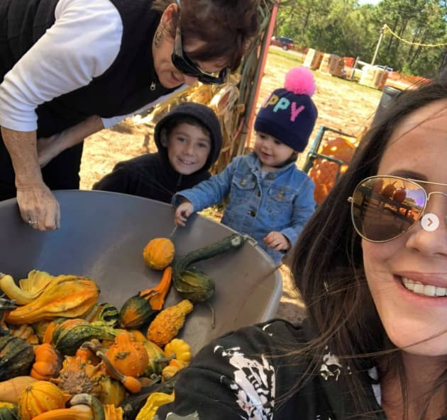 Jenelle at the Patch