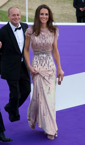 Kate Middleton Wears Jenny Packham to ARK Gala