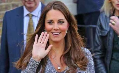 Duchess Kate Waves