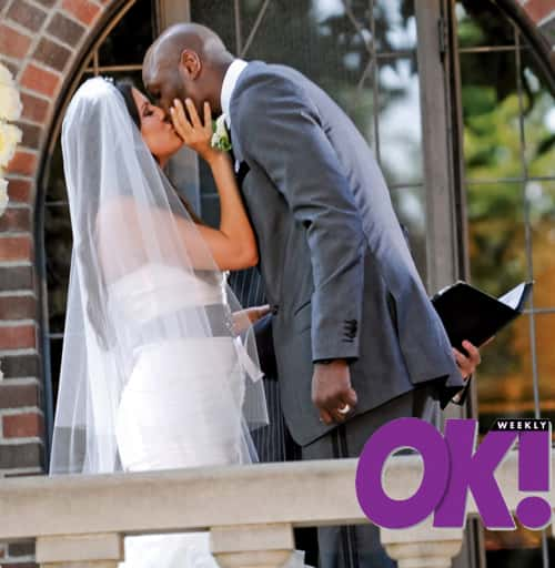 Mr. and Mrs. Lamar Odom!