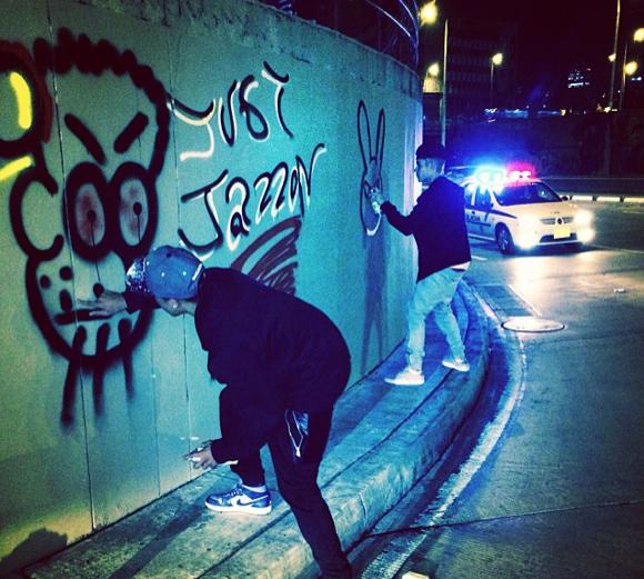 Justin Bieber Graffiti Art