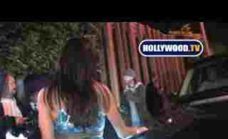 Drunken Janice Dickinson Attacks Cameraman