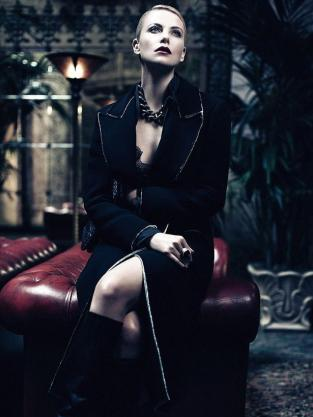 Charlize Theron Interview Photo