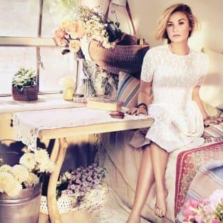 Demi Lovato in Teen Vogue