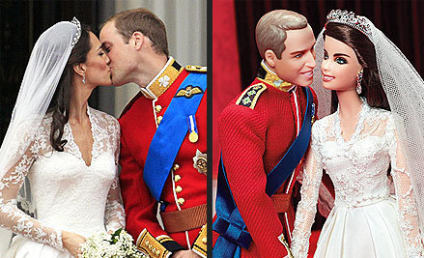 Prince William & Kate Middleton as Ken & Barbie: First Look!