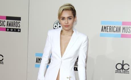 Miley Cyrus at American Music Awards