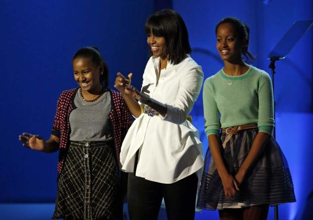 Michelle Obama at Inauguration Concert