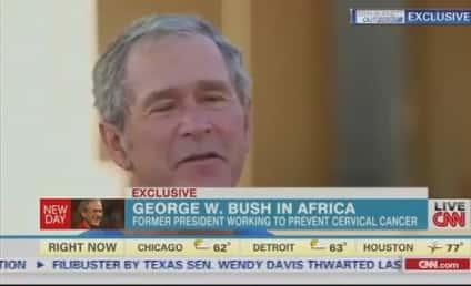 George W. Bush Defends Internet Spying, Slams Edward Snowden