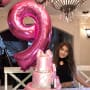 Audriana Giudice and Birthday Cake
