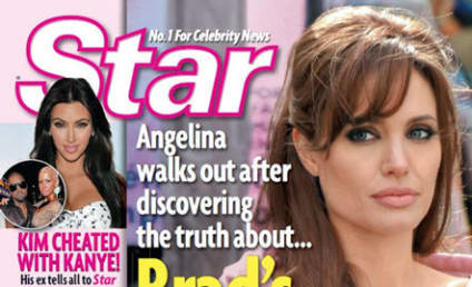 Angelina Jolie Pregnant, May Leave Brad Pitt For Knocking Up Jennifer Aniston, Tabloids Claim