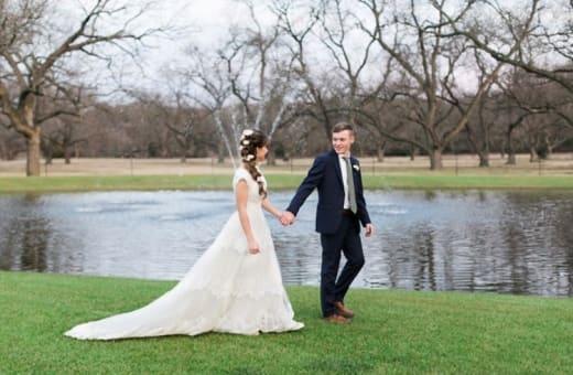 El día de la boda de Justin y Claire