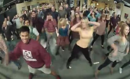 The Big Bang Theory Cast: Call Me Maybe Flash Mob Alert!