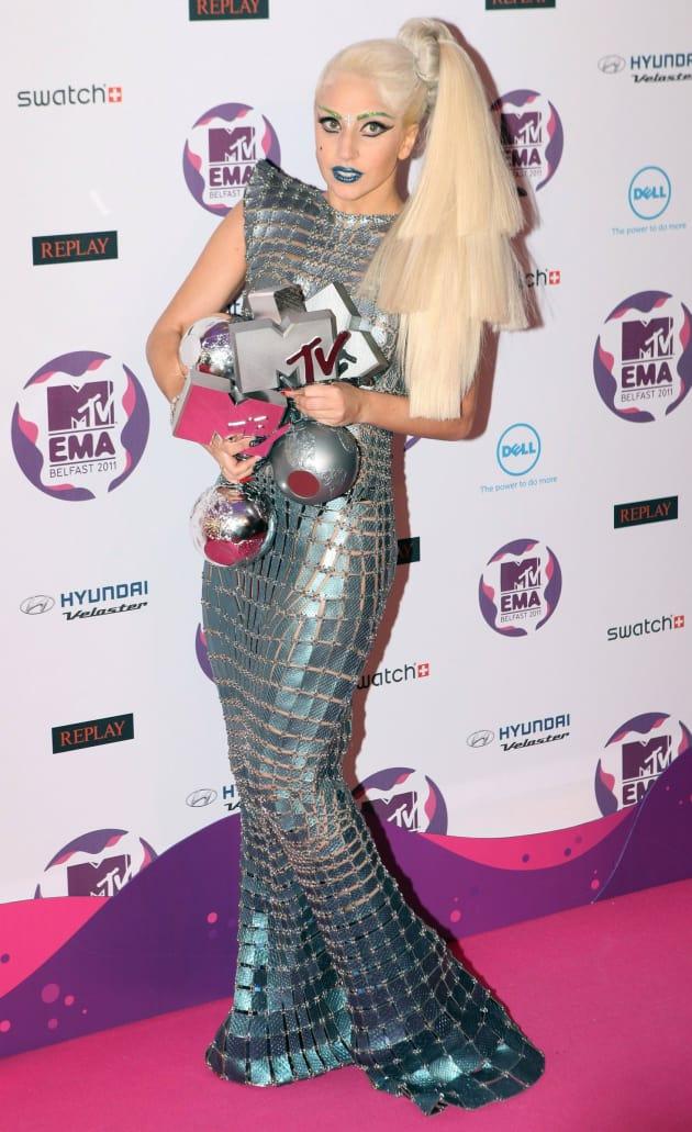 Lady Gaga at MTV Europe Music Awards