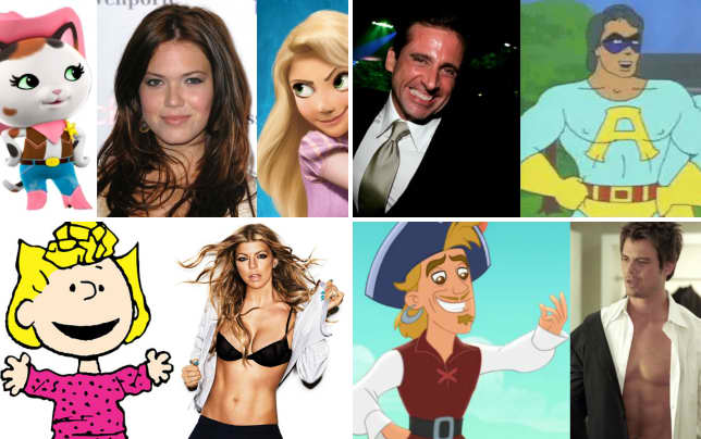 21 celebs who voiced cartoons mandy moore