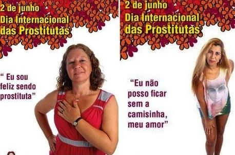 Happy Prostitute Ads