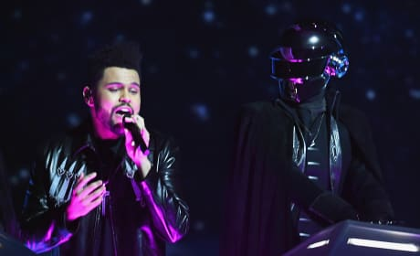 Weeknd Grammy Performance