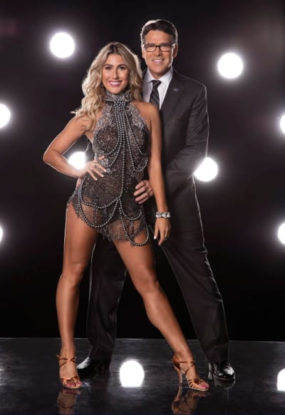 Rick Perry and Emma Slater