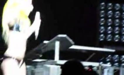 "Lady Gaga, Maria Aragon Perform ""Born This Way"""