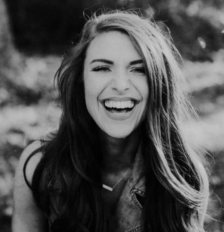 Audrey Rulloff laughs