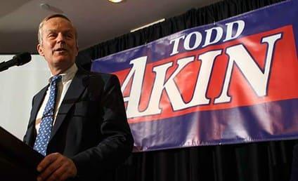 """Todd Akin Apologizes for """"Legitimate Rape"""" Comment"""