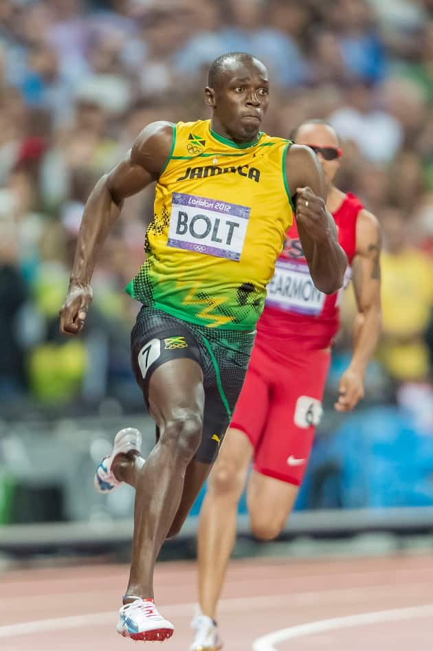 Usain Bolt Runs