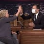 Jimmy Fallon and Hillary Clinton