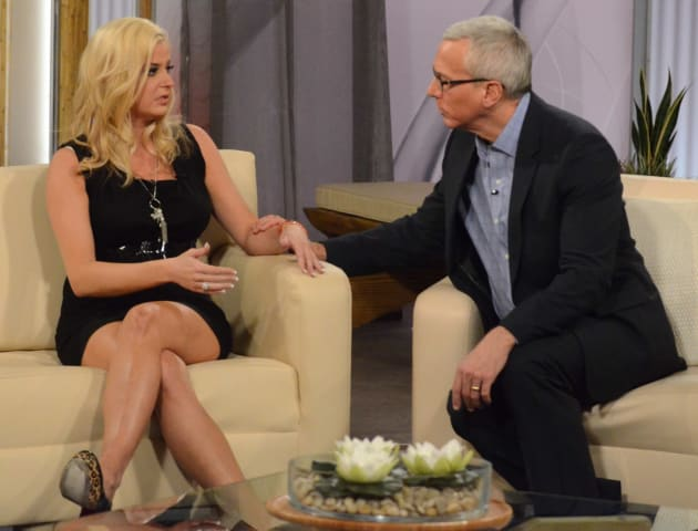 Dr. Drew and Kate Major
